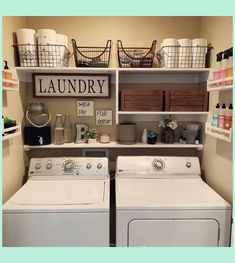 It's live! {swipe for the before} My small space laundry room/closet makeover video is up on my channel! Laundry Closet Makeover, Laundry Room Remodel, Laundry Room Organization, Organization Ideas, Laundry Room Shelving, Closet Shelves, Laundry Organizer, Laundry Storage, Storage Shelves