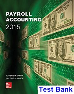Payroll accounting 2015 25th bieg solution manual payroll test bank for payroll accounting 2015 1st edition by landin fandeluxe Image collections