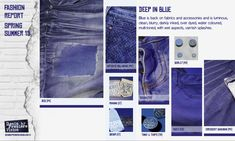 2015 Fashion Color Forecasting Trends   Denim Trends for Spring/Summer 2015 by Premiere Vision