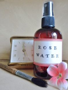 ROSE WATER HYDROSOL  Helps to traps the moisture inside the skin.  Great toner for sun-damaged skin. by TerraViam on Etsy https://www.etsy.com/transaction/1236154601