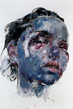 Two Dimensional Art, Phillippe Pasqua, Artist, Untitled, 2010,   oil on canvas, 400 X 260 cm
