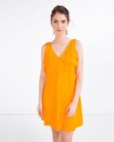 ZARA - NEW IN - SHORT FRILLED DRESS