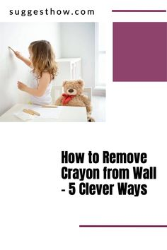 Kids enjoy drawing on the walls with crayon and this does not mean the end of having clean walls at your home. Using simple tricks can help you clean the wall easily. Here is how to remove crayon from wall easily. #homehacks #clean #DIY #cleaningtips #cleanconte #cleanwax Deep Cleaning Tips, Household Cleaning Tips, Cleaning Walls, Bathroom Cleaning, House Wall, Neat And Tidy, Home Hacks, Housekeeping, Clean House