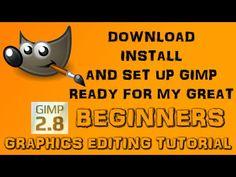 Beginners Basic Gimp Tutorial - YouTube