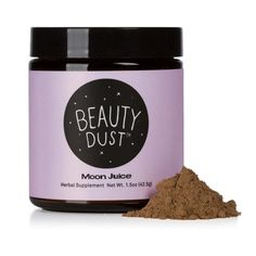 Spirit Dust™ is a divine edible formula alchemized to help you unwind, expand peaceful awareness and align with bliss. Add to nut milk, coffee, tea, hot or cold water or blend into your favorite smoot Beauty Dust, Beauty Bar, Moon Juice, Anti Aging Supplements, Energy Supplements, Juice Beauty, Stevia, Aromatherapy, Herbalism