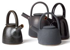 Wonderfull teapots from Gurli Elbækgaard