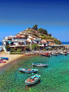 Beautiful Samos Island, Greece
