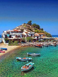 Beautiful Samos Island, Greece