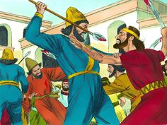 Any group who attacked them were struck down and killed. – Slide 13