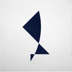 #527 Dancer – A new minimal geometric composition each day.