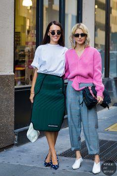 Evangelie Smyrniotaki and Caroline Daur by STYLEDUMONDE Street Style Fashion Photography_48A4494