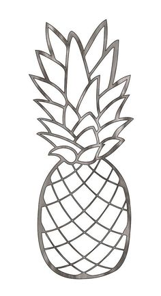 "Figure out additional relevant information on ""metal tree art diy"". Have a look at our internet site. Pineapple Drawing, Pineapple Painting, Pineapple Art, Pineapple Sketch, Metal Tree Wall Art, Metal Art, Drawing Templates, Plasma Cutting, Stained Glass Patterns"