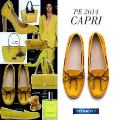 """The celeb Capri moccasin, on the latest """"Vogue Accessori"""" issue!"""