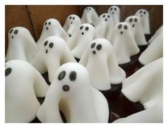 Halloween ghost cupcakes | Cervenej-cudlik