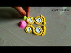 Top 5 Diwali Lakshmi Padam rangoli/Navaratri rangoli - YouTube