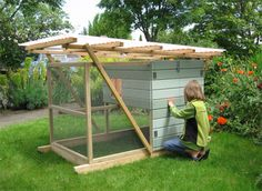 Garden Ark. I like this one because it looks like you could set it on top of a raised bed to scratch and work in manure.