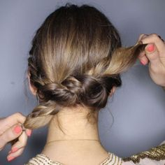 The French braid twist