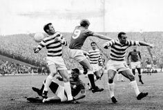 Defence clears at Ibrox 1969
