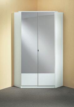 armoire de chambre d'angle