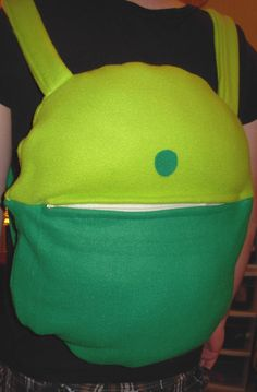 Adventure Time Finn backpack.