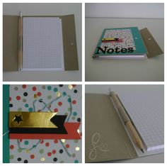 Notizbuch mit Anleitung, Book for Notes, Sale-a-bration 2014, Stampin' Up!