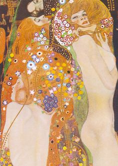 Gustav Klimt - Water Serpents II, 1907  of course gustav