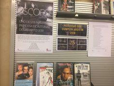 Selección de películas de Martin Scorsese, Premio Princesa de Asturias de las Artes 2018,  en el Expositor de la tercera planta , dentro de la Sección de Cine y Música, durante este mes de mayo de 2018. Robin Williams, Bob Dylan, Martin Scorsese, Mayo, Frame, Books, Door Prizes, Princess, Movies