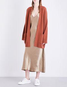 VINCE - Oversized cashmere cardigan | Selfridges.com
