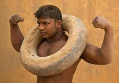 Gar Nal training is alive and well with the Wrestlers of India!