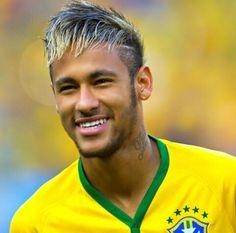 My favorite soccer player Neymar Jr, Soccer Hair, Soccer Pictures, Soccer Pics, Love You Babe, Good Soccer Players, Best Player, Football Soccer, Messi