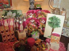 @Sarah Greenleaf Gifts' new Island Sunset fragrance at Magnolia Cottage in Rock Hill, SC.