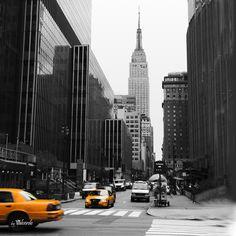 QUADRO VINTAGE - NEW YORK - (45 X 45)