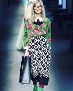 Reposting @fleur_de_vici: Gucci Fall 2016  @gucci  @zestystyleonthego  @wwd 🌺  #mbfw #fleur #patterns #texture #rtw #styling #statementpiece #goals #editorial #blogging #elle #ontheblog #lookbook #styleblogger #inspo #fashionthroughmyeyes #fashion #fashionista #harpersbazaar #luxelife #fashiondairies #thelook #luxury #lifestyle