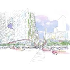 A Gateway Esplanade rendering of the Miami Innovation District