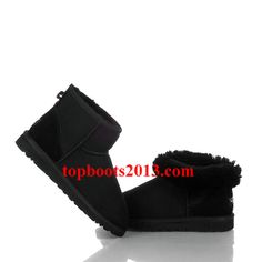 Womens UGG 5854 Classic Mini Boots Wholesale Outlet Black
