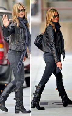 Fashion Icon: Jennifer Aniston has a trendy, comfortable and chic style! Have her look for less with 2nd Take.    #2ndTake #OnlineShopping #Fashion #Trendy