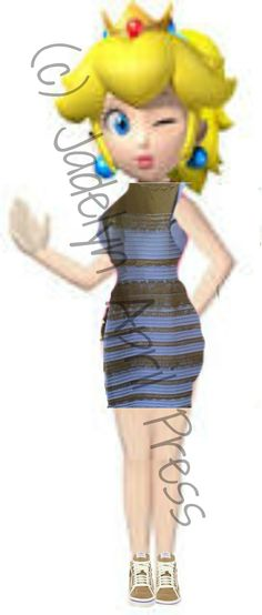THE dress. -_- Anyways, what color does it appear to you? It's white and gold for me.
