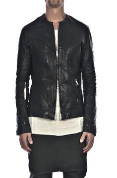 Lentrian | Fitted Lamb Leather Jacket | ORIMONO.eu