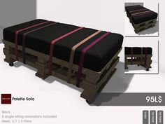Furniture for the home - 22769 ~ [bauwerk] palette sofa...