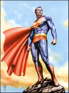 Superman by Max Bertolini