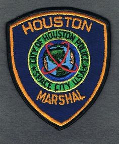 BAYTOWN TEXAS TX MARSHAL sheriff police PATCH