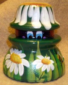 The Decorative Painting Store: Daisy & Ladybug Insulator DOWNLOAD, Newly Added Pattern Packets
