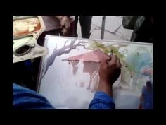Watercolor Demo By Amit Kapoor - YouTube