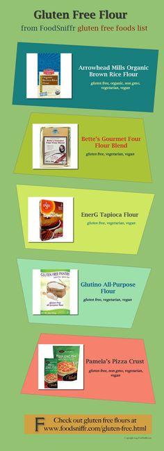 Gluten Free Flour and other gluten free foods
