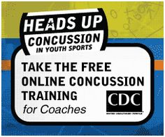 Take a look at CDC's website for a free online concussion training video for coaches. There is a lot of great information that will inform you of when your athletes are ready to return to the playing field.