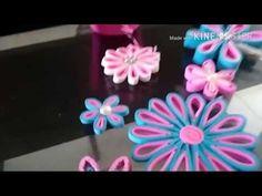Flor Simples de EVA - passo a passo - YouTube