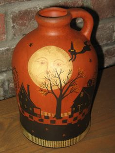 OOAK New England Folk Art Salem Witch Village by Flyingwitches