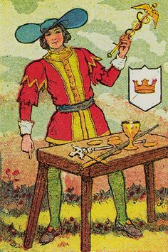 Knapp-Hall Tarot ► The Magician