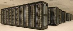 Cluster of machines running Hadoop at Yahoo!