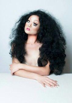 Kim Chi, RPDR8, drag makeup